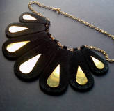 Clayton Liis Fashion and Jewellery Design Silvi Recycled Suede Necklace