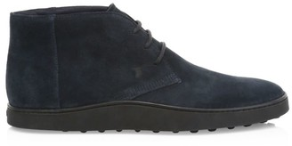 Tod's Polacco Suede Chukka Boots