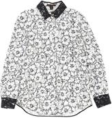 Louis Vuitton White Silk Top