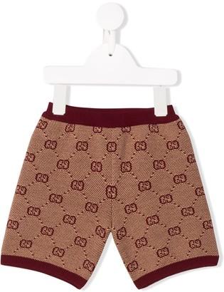 Gucci Kids GG jacquard shorts