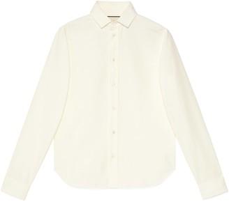 Gucci Oxford cotton college shirt