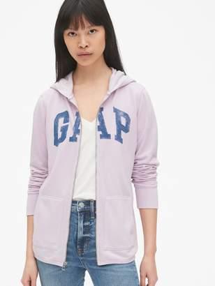 Gap Vintage Soft Logo Zip Hoodie