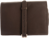 Piel Leather Tri-Fold Buckle Toiletry Kit 2998