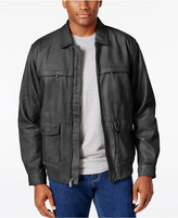 Tommy Bahama Men's Santiago Leather Aviator Jacket