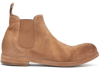 Marsèll Zucca Suede Chelsea Boots - Mens - Brown