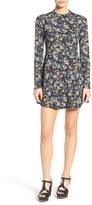 Lush Junior Women's Long Sleeve Knit Dress