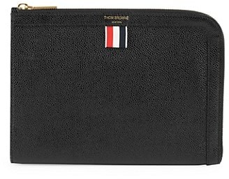 Thom Browne Mini Gusset Leather Folio