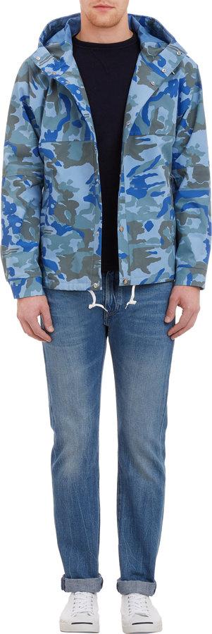 Camo nanamica Hooded Cruiser Jacket