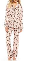 PJ Salvage Horse Flannel Pajamas