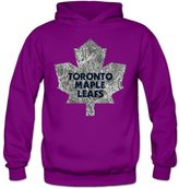 Enlove Toronto Maple Leafs Thin 100% Cotton Hoodies For Women Size XL Without Pocket
