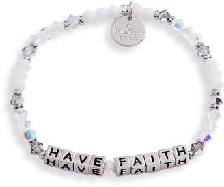 Little Words Project Beaded Stretch Bracelet