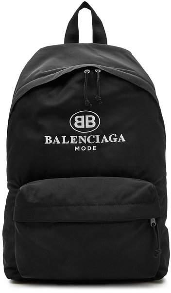 Balenciaga Logo Backpack