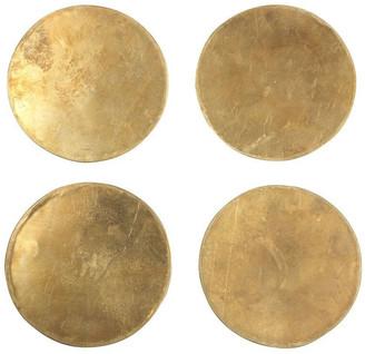 Sir/Madam Sir Madam Solid Brass Coasters Set Of 4