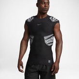 Nike Pro HyperStrong 4-Pad Men's Short Sleeve Football Top