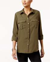 NY Collection Utility Shirt