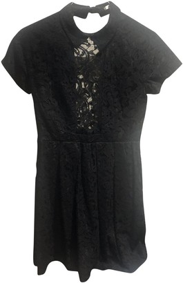 Carven Black Lace Dresses