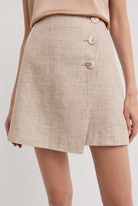 Witchery Button Detail Mini Skirt