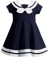 Sweet Heart Rose Sweetheart Rose Baby Girls Short Sleeve Sailor Dress