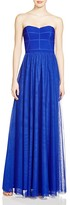 JS Collections Strapless Mesh Skirt Gown - 100% Bloomingdale's Exclusive
