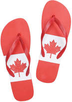 Joe Fresh Men's Canada Flip Flops, Print 9 (Size 8)