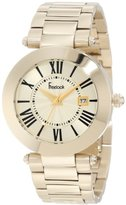 Freelook Women's HA1537GM-3 All Shiny Gold Plated Dial Watch