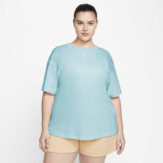 Nike Women's Short-Sleeve Top (Plus Size Sportswear Essential