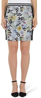 Marc Cain Women's HS 71.30 M01 Knee-Length Skirt,(Manufacturer Size: N2)