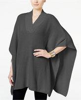 Style&Co. Style & Co. V-Neck Sweater Poncho, Only at Macy's