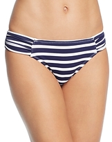 Tommy Bahama Brenton Shirred Side Stripe Bikini Bottom