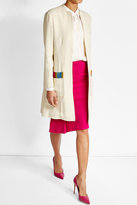 Etro Embroidered Silk Blend Coat