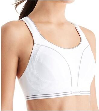 Shock Absorber B5044 Women's Run Sports Bra - White/Silver 36DD