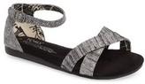 Toms Girl's 'Correa' Ankle Strap Sandal