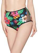 New Look Women's Marlin Tropical High Waist Bikini