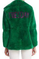 Alberta Ferretti Fur Tuesday Jacket
