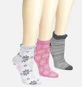 Avenue Tiled Knit Low Socks 3-Pack