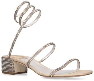 Rene Caovilla Embellished Cleo Sandals 40