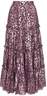 Taller Marmo Raphaelites ruffled maxi skirt