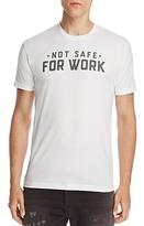Kid Dangerous Not Safe for Work Tee