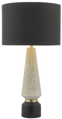 Persora - Onora Terrazo And Black Table Lamp With Shade