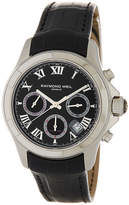 Raymond Weil Men's Chronograph Embossed Leather Watch
