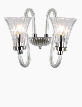 Marks and Spencer Acrylic & Glass Wall Light