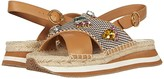 Tory Burch Daisy Crystal Sandal (Desert Camel/Multi) Women's Shoes