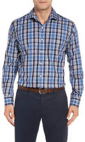 Peter Millar Pacific Regular Fit Plaid Sport Shirt