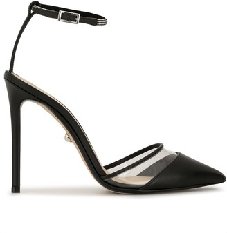 ALEVÌ Milano Bianca pointed pumps