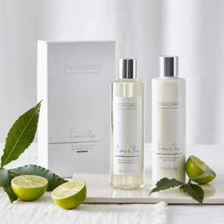 The White Company Lime & Bay Bath & Body Gift Set, No Colour, One Size