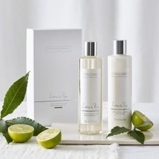 The White Company Lime & Bay Bath & Body Gift Set, No Colour, One Size