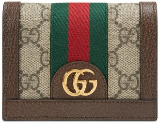 Gucci DIY Ophidia GG card case wallet