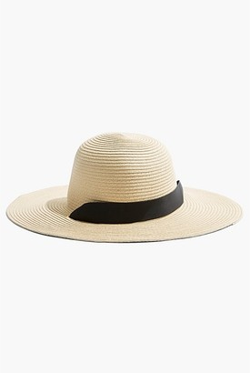 Country Road Tie-Up Straw Hat