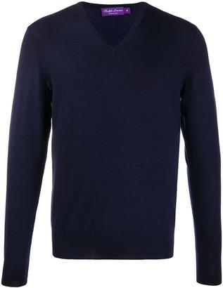 Ralph Lauren Purple Label V-neck jumper
