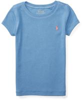 Ralph Lauren French Blue Modal Tee - Toddler & Girls